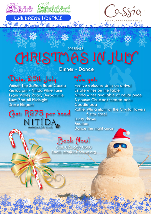 Christmas in July – 25th July