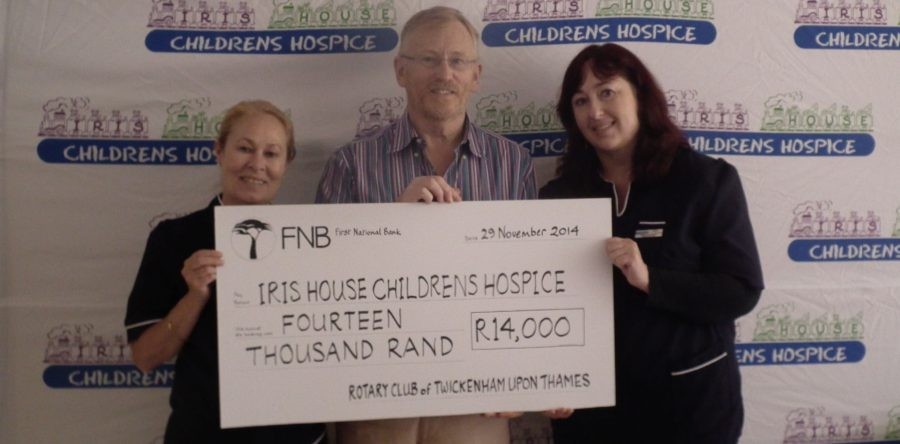 UK Rotary Club shows support for Iris House