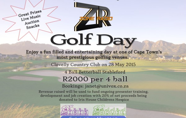 Zone Radio Golf Day 28th May 2015