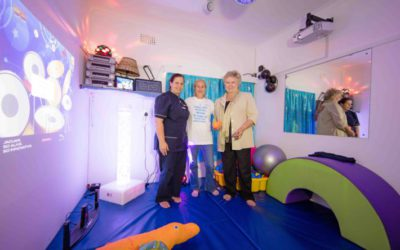 Official opening of our Sensory Room