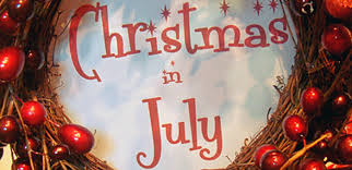 Christmas in July 29th and 30th July