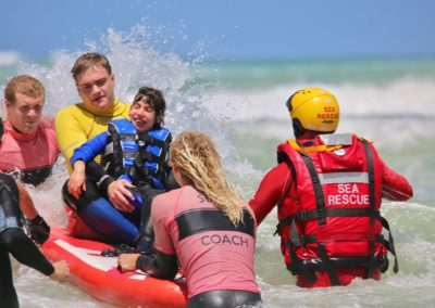 Surfing for special needs