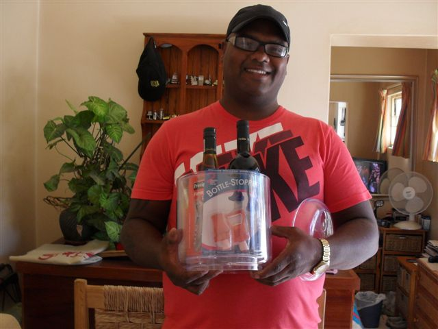 Winner of Lighthouse Project Wine Hamper