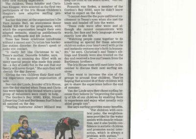 Surfing article - Tygerburger