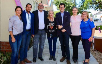 British Consul General Edward Roman Visits Iris House Children's Hospice