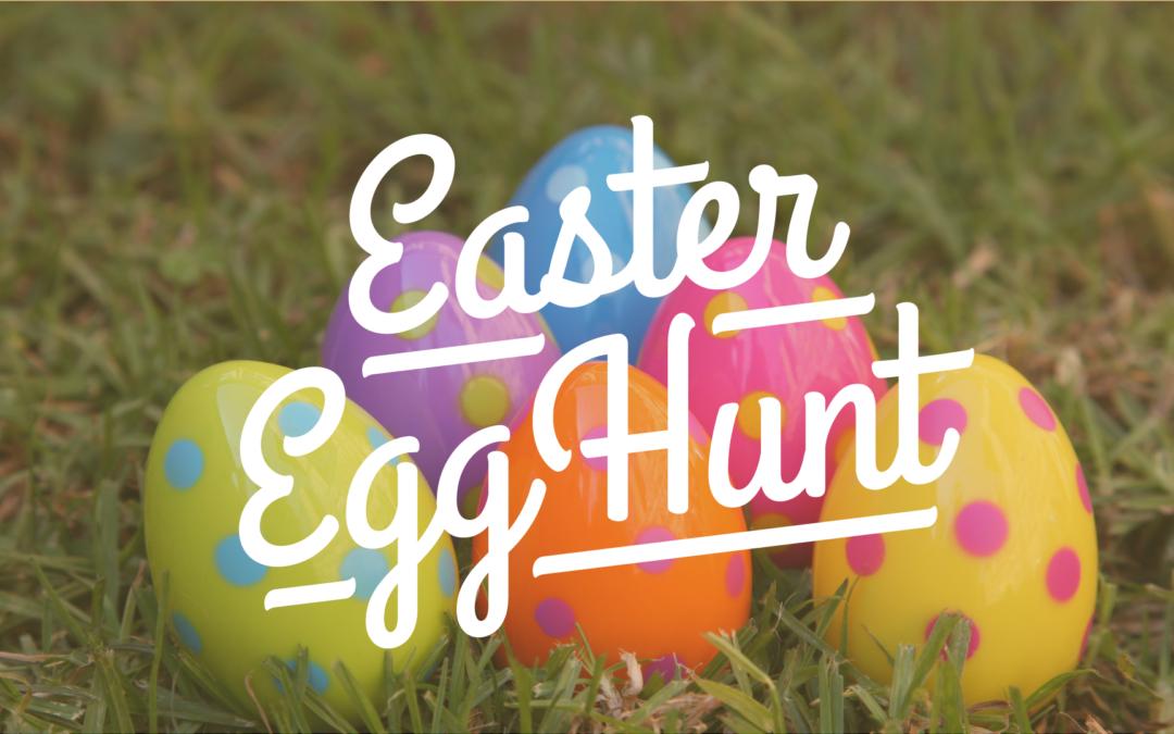 Easter Egg Hunt 21st April 10am -2pm