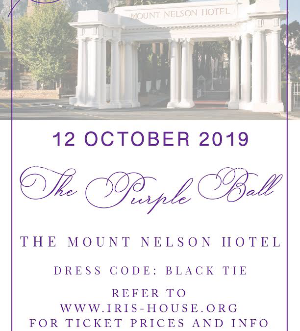 The Iris House Purple Ball 2019 – 12 October 2019